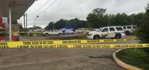 Crime Scene Tape blocks scene