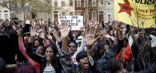 Protest Rally Baltimore Police