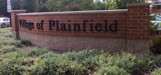 Brick Wall - Village of Plainfield Illinois