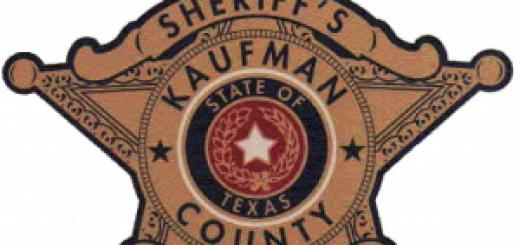 Kaufman County Texas Badge